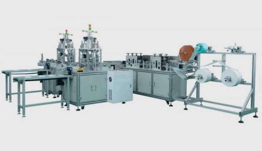 disposable face mask production machine 1