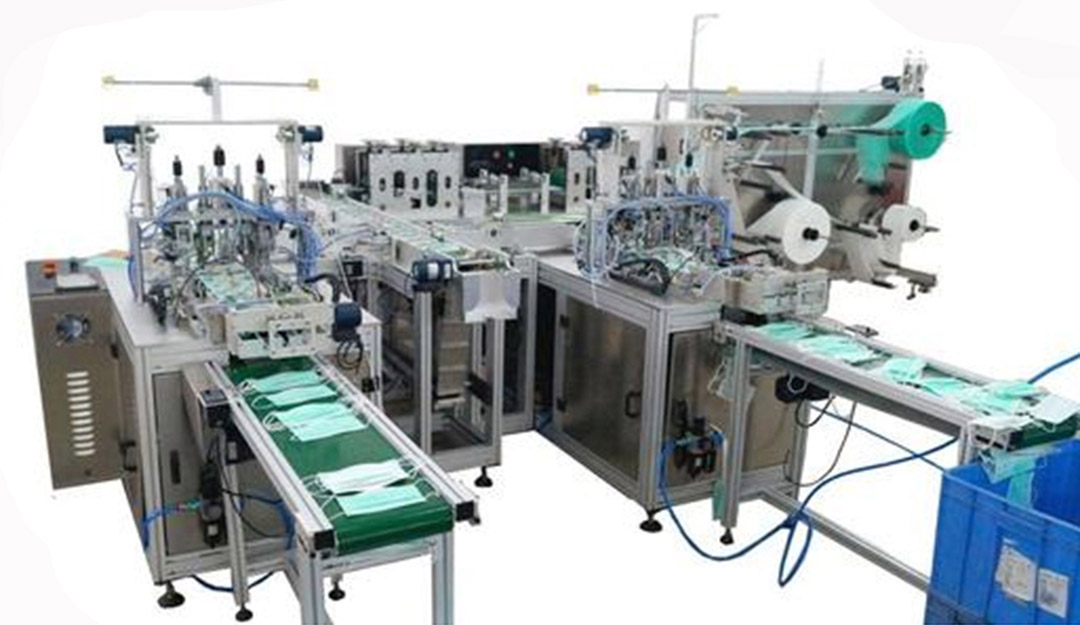 disposable face mask production machine 2