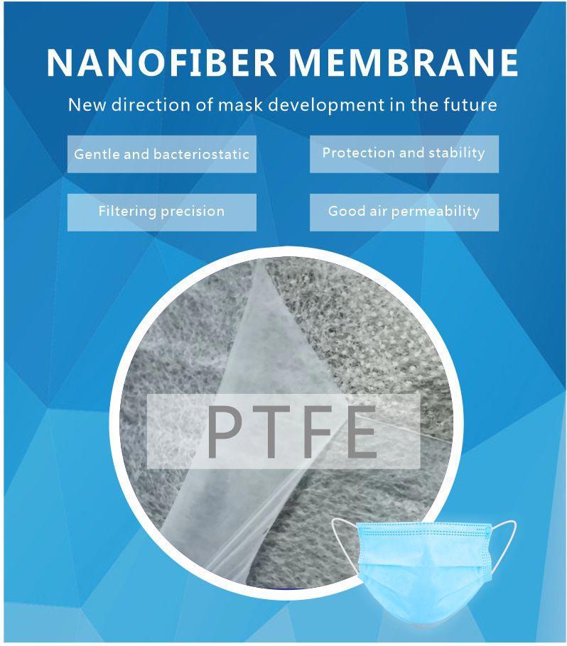nano fiber filter fabric